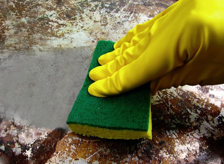 como limpiar cacerolas quemadas con vinagre