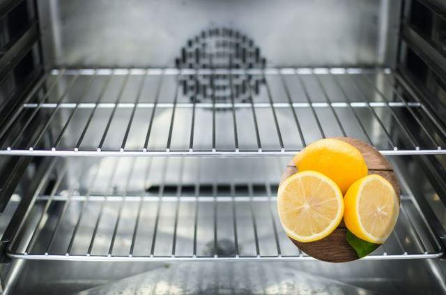 como limpiar horno electrico con limon