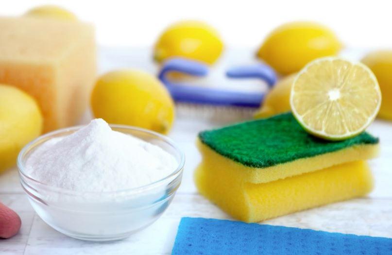 como limpiar ventanas de aluminio con limon y bicarbonato