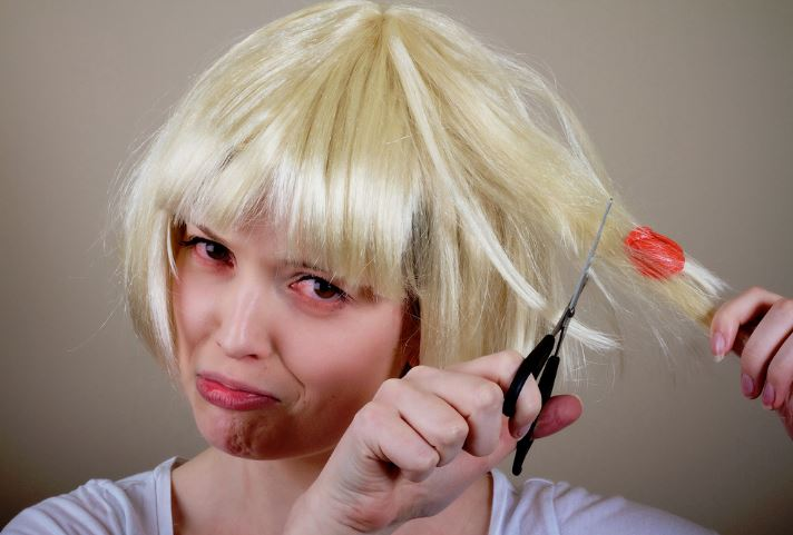 como quitar chicle del pelo correctamente