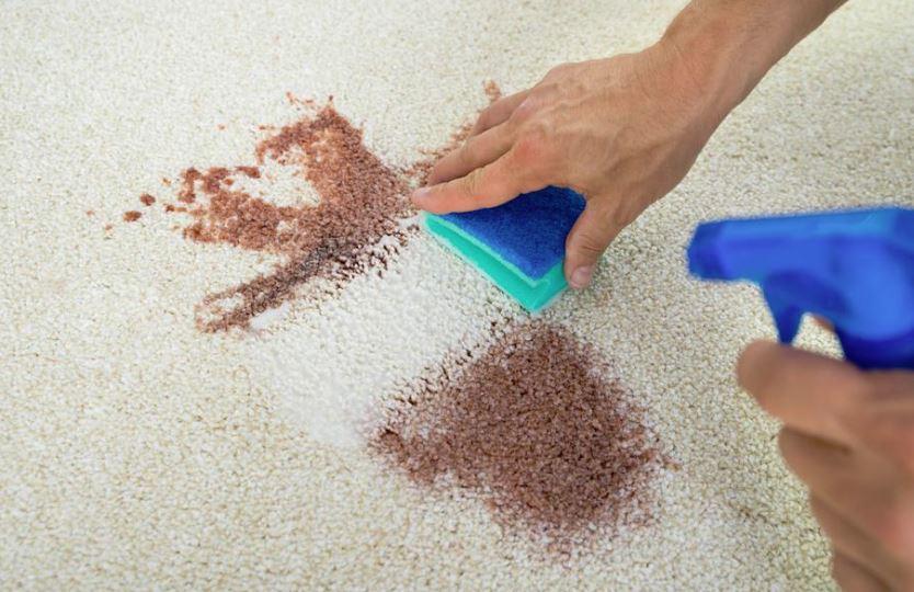 limpiar alfombra con agua oxigenada