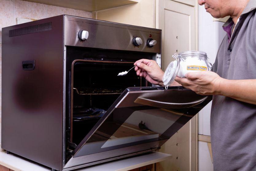limpiar horno bicarbonato de sodio 100 grados