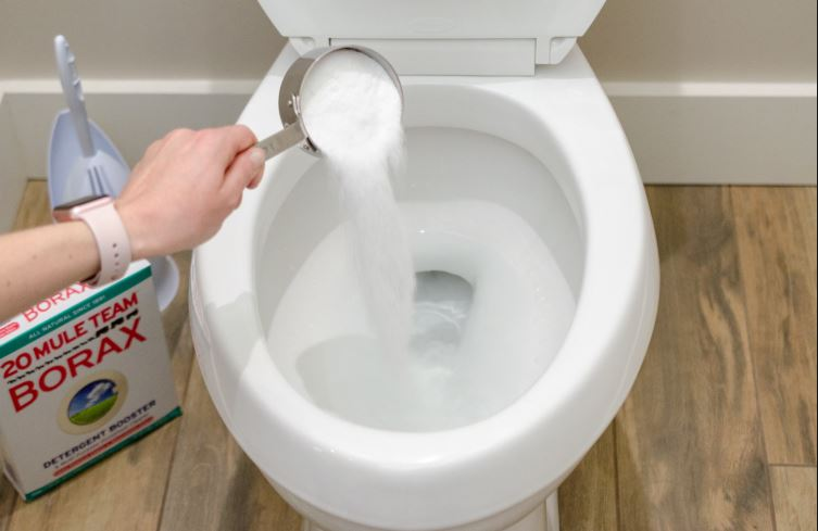 limpiar inodoro por dentro con borax