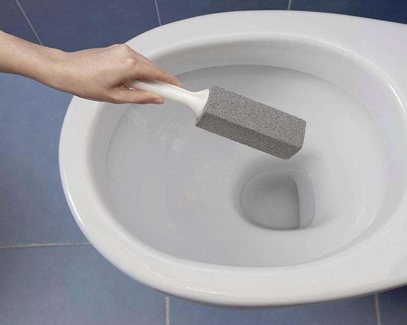 piedra pomez para limpiar inodoro