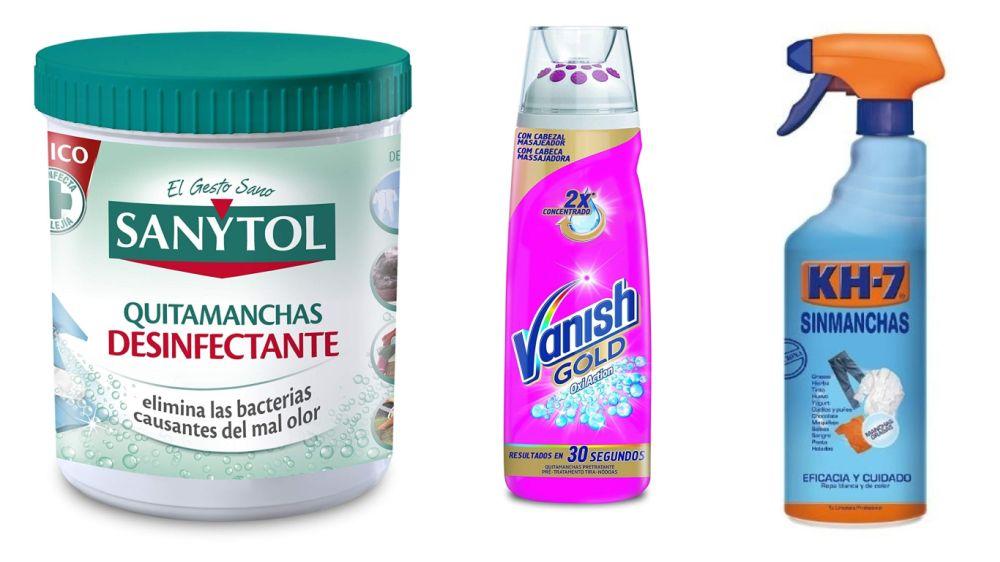 productos para quitar manchas de desodorante en la ropa