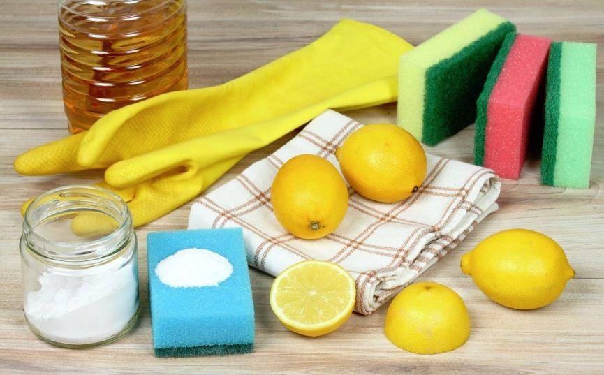 vinagre limon y bicarbonato para manchas en axilas