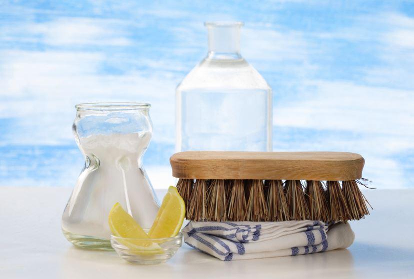 vinagre y agua para limpiar ante