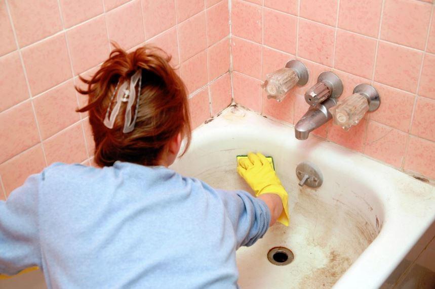 como limpiar el baño sin quimicos