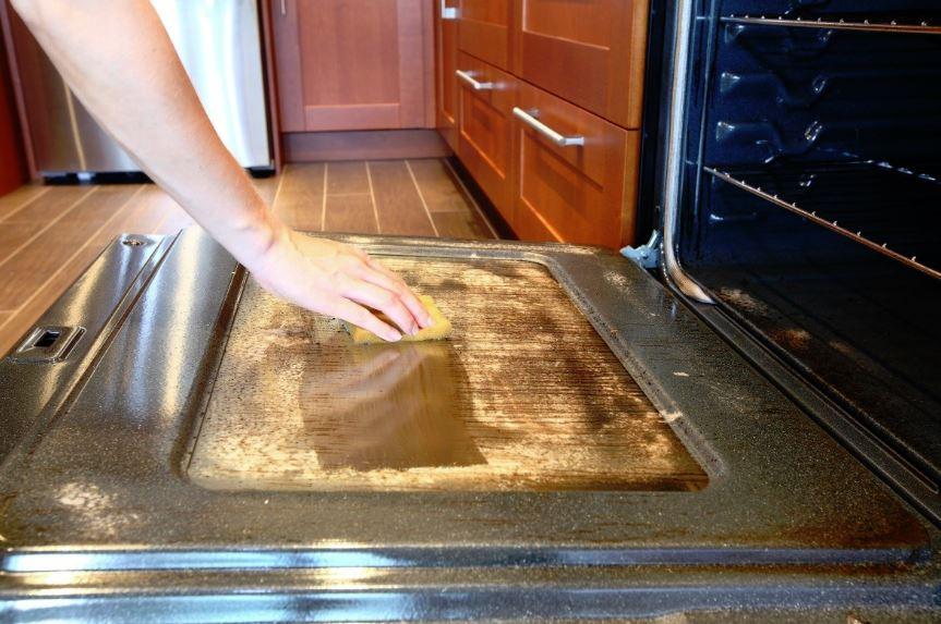 limpieza cristal horno teka