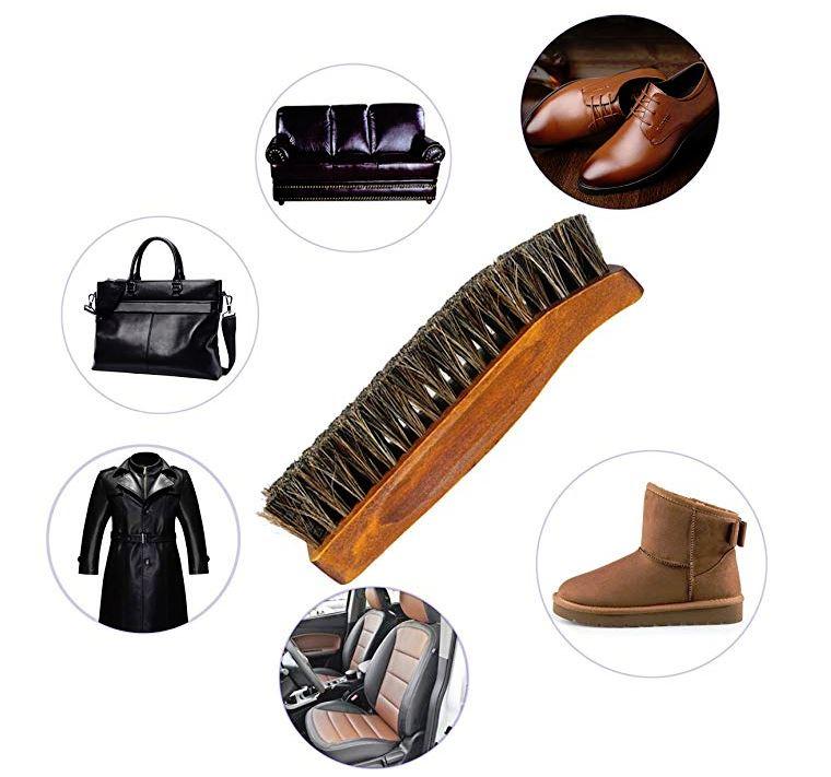 cepillos para limpiar zapatos de cuero