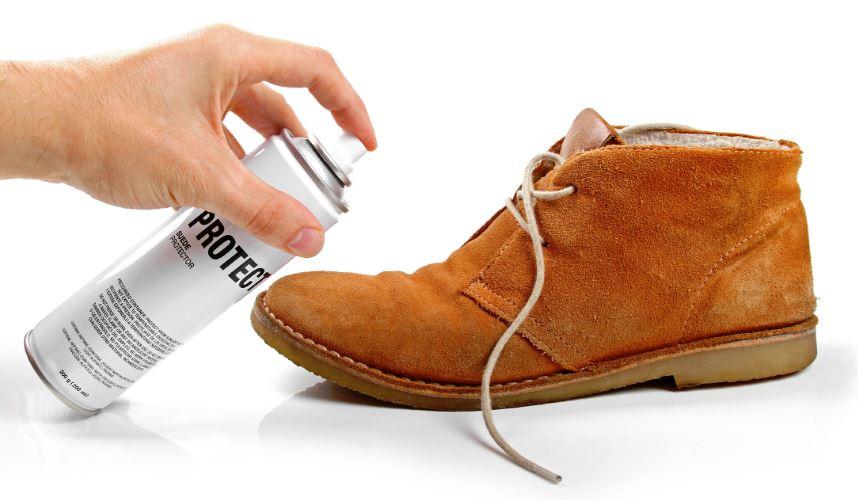 como limpiar zapatos de nobuk manchados