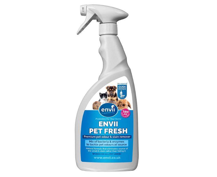 limpiador con enzimas para quitar orina de mascotas