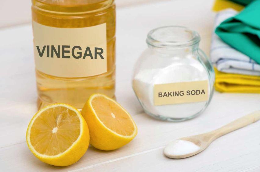vinagre blanco y bicarbonato para limpiar toallas
