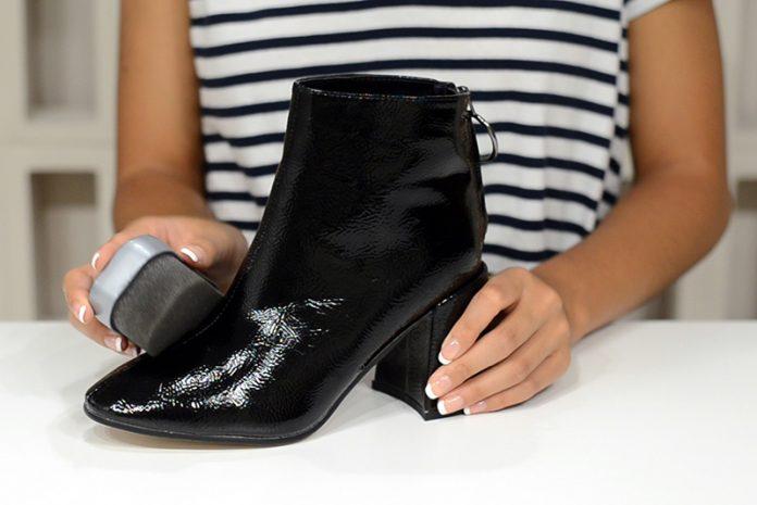 como limpiar zapatos de charol