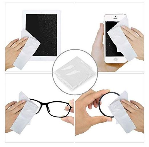 toallitas limpiadoras de gafas