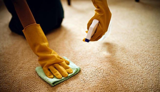 como limpiar alfombras en casa con productos caseros