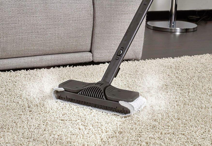 limpiador a vapor vaporeta de alfombras polti