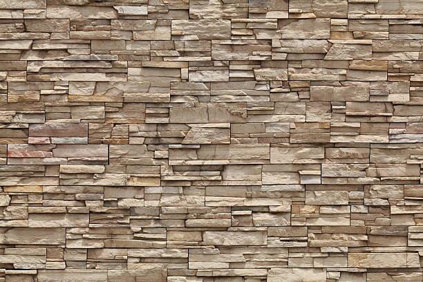como son las fachadas de piedra natural