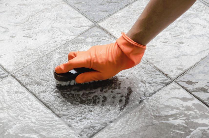 limpiar juntas baño bicarbonato