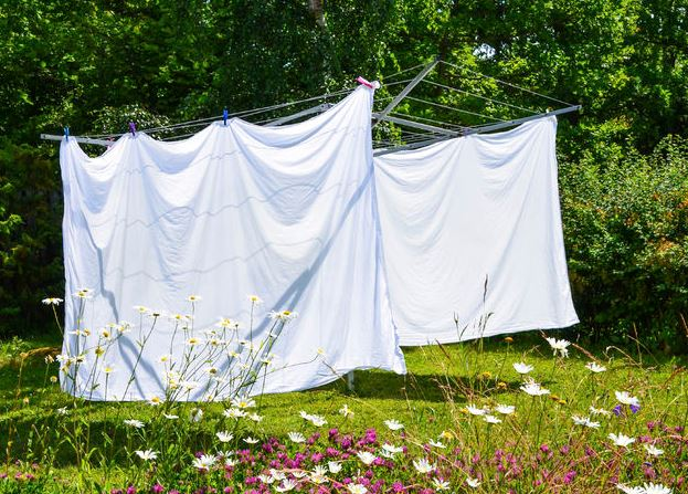 secar edredon al aire libre