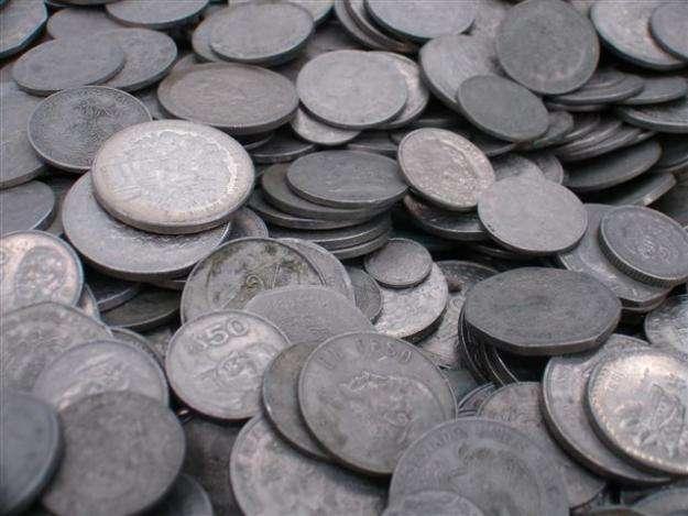 como son las monedas de niquel