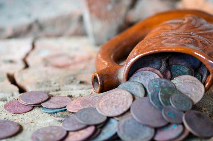 limpiar monedas antiguas electrolisis