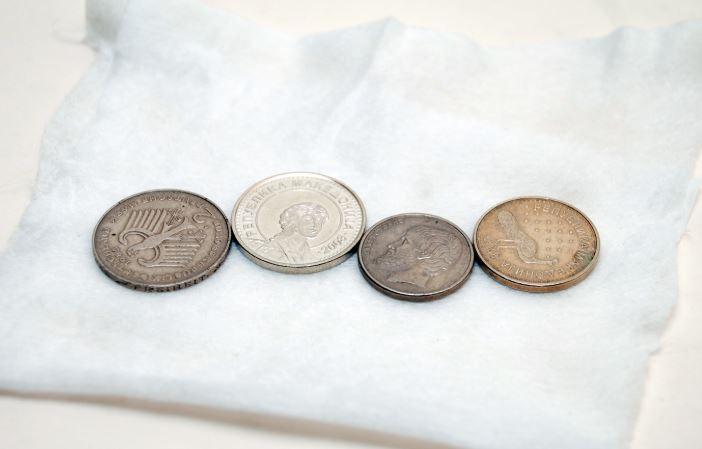 limpiar monedas rusas antiguas