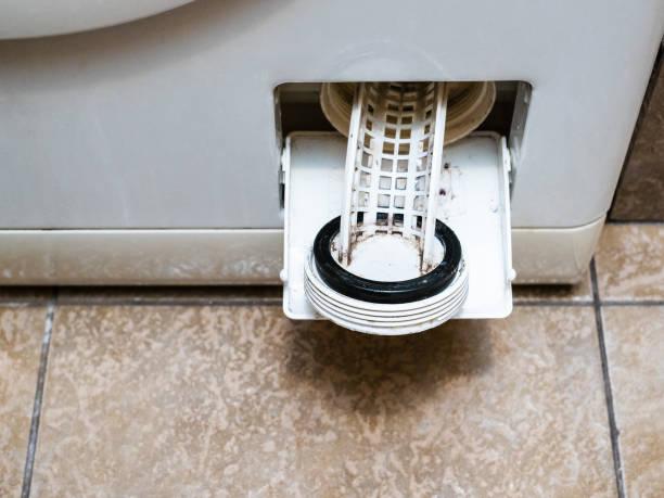 como limpiar el filtro de la lavadora