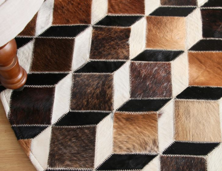 como limpiar una alfombra de cuero
