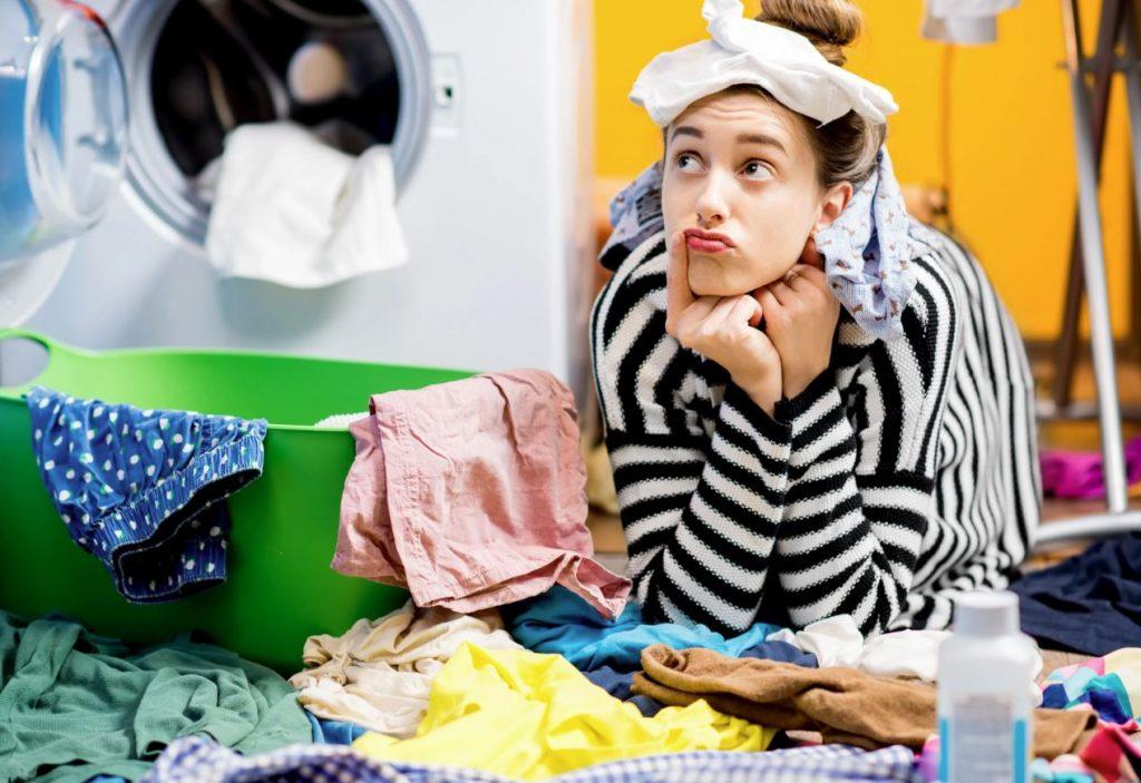 como quitar mal olor ala lavadora
