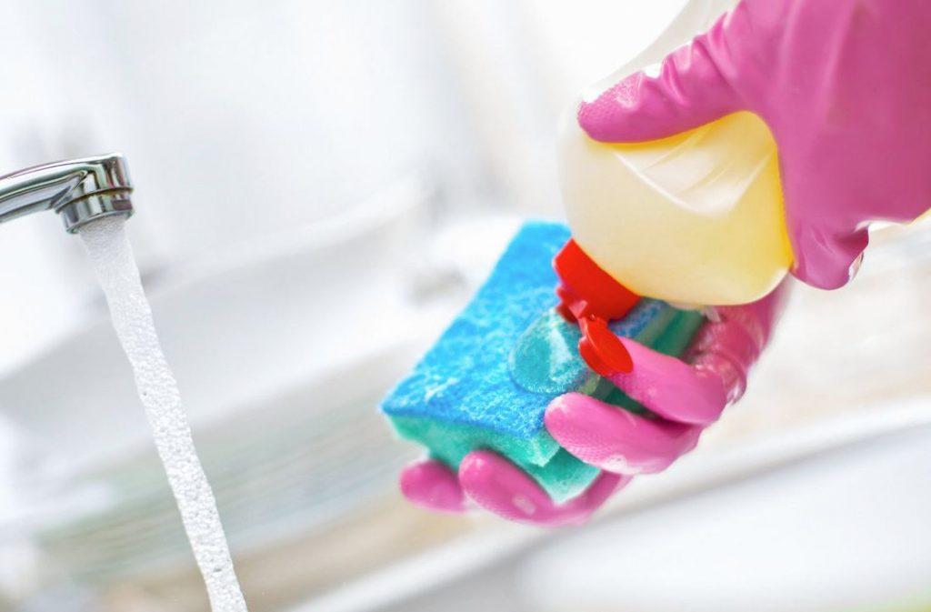 detergente para manchas de oxido