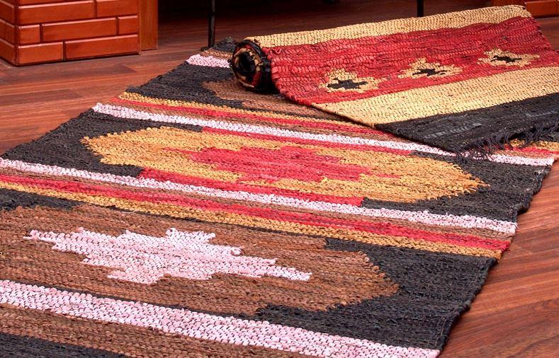 lavar alfombra de cuero