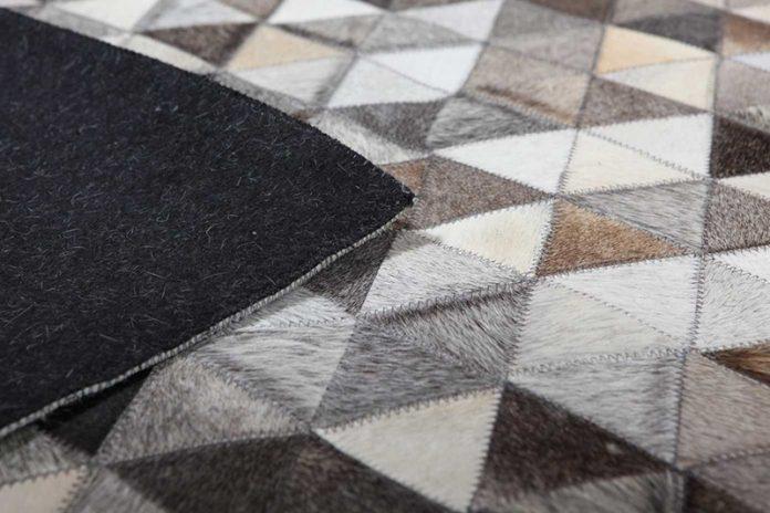 limpiar una alfombra de cuero