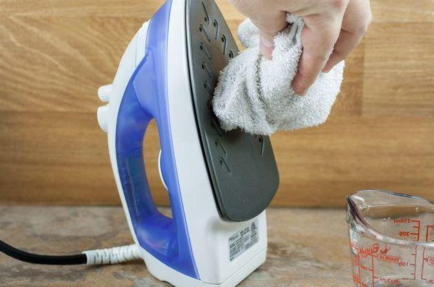limpieza plancha vapor por fuera