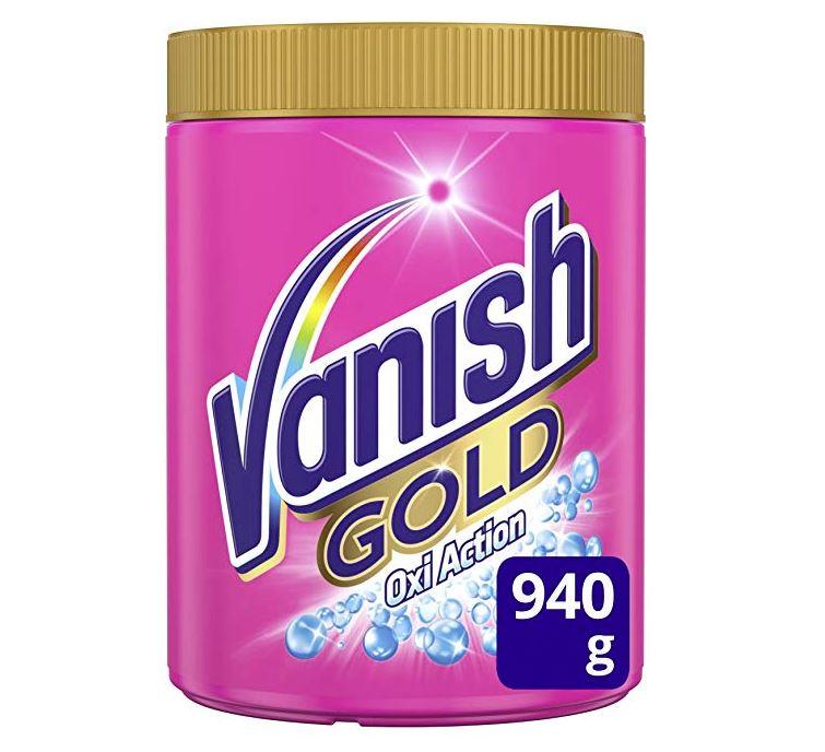 quitamanchas vanish para ropa gold oxi action