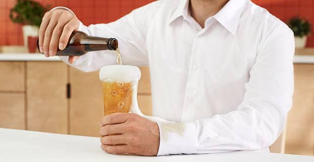 sacar mancha cerveza