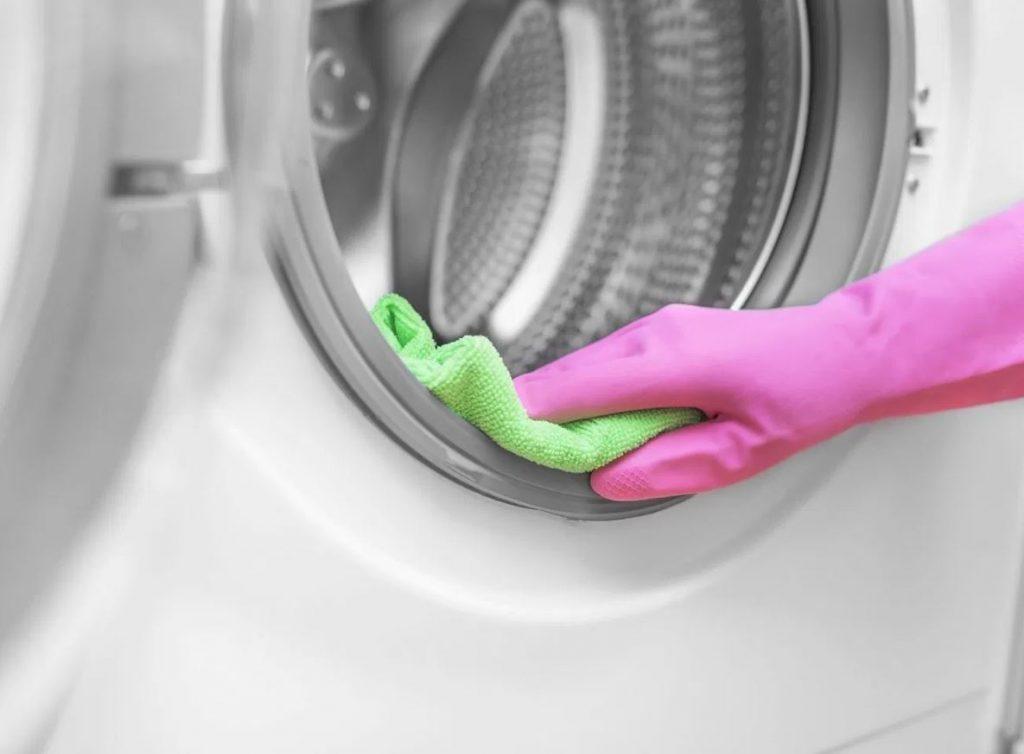 secar la goma de la goma de la lavadora