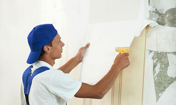 como quitar el papel de la pared