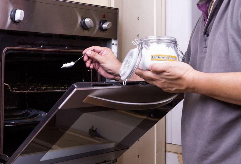 limpiar el horno con bicarbonato de sodio limpiezapedia