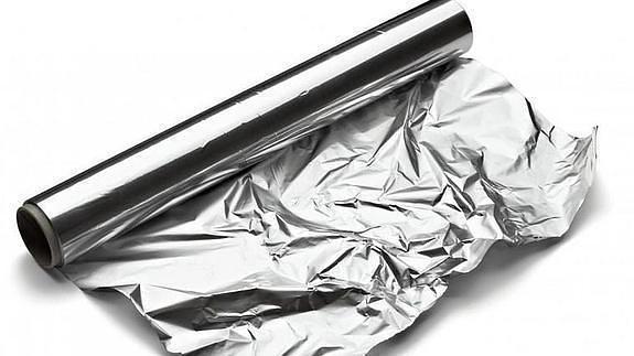 limpiar manchas oxido con papel aluminio