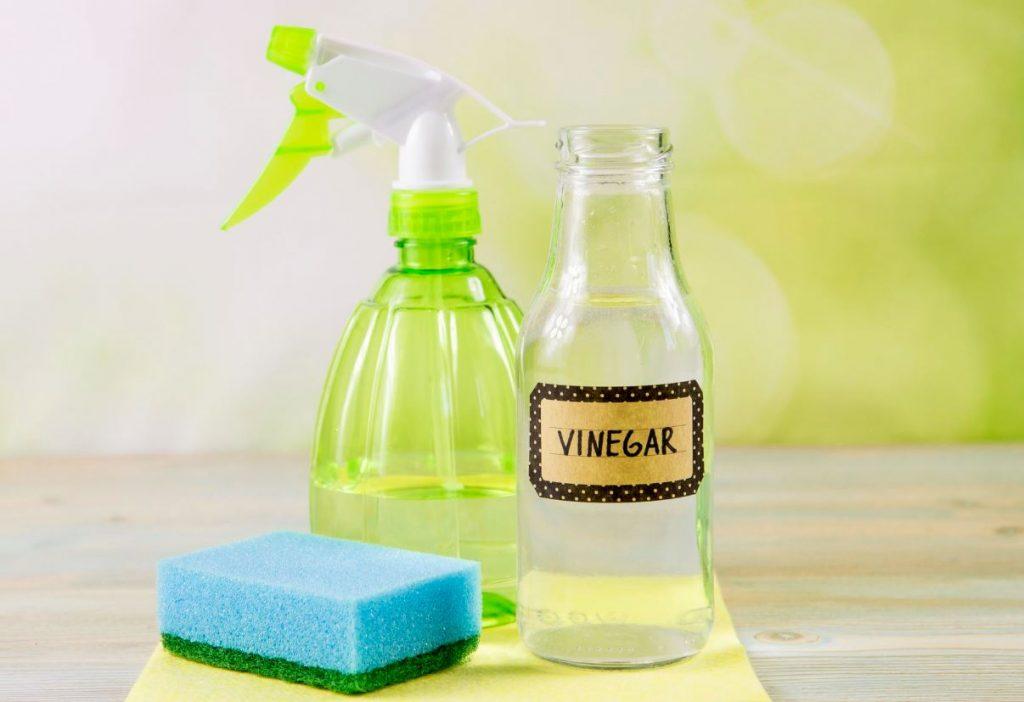 vinagre y agua para manchas de humedad