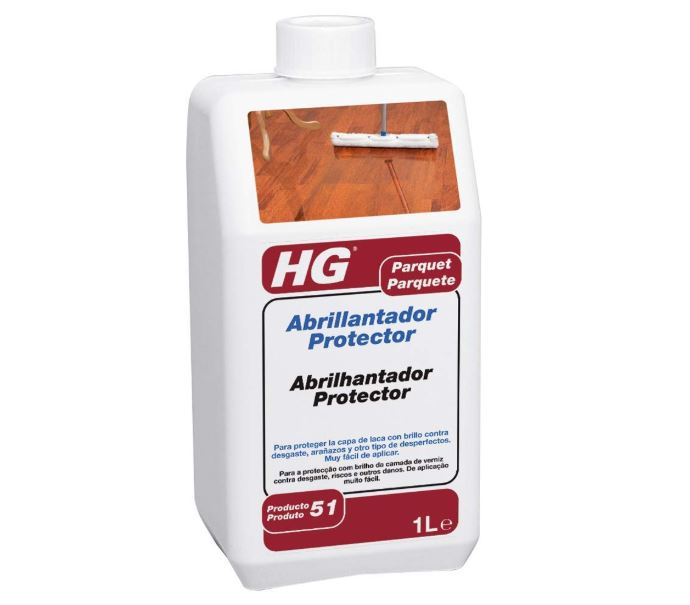 abrillantador para parquet hg