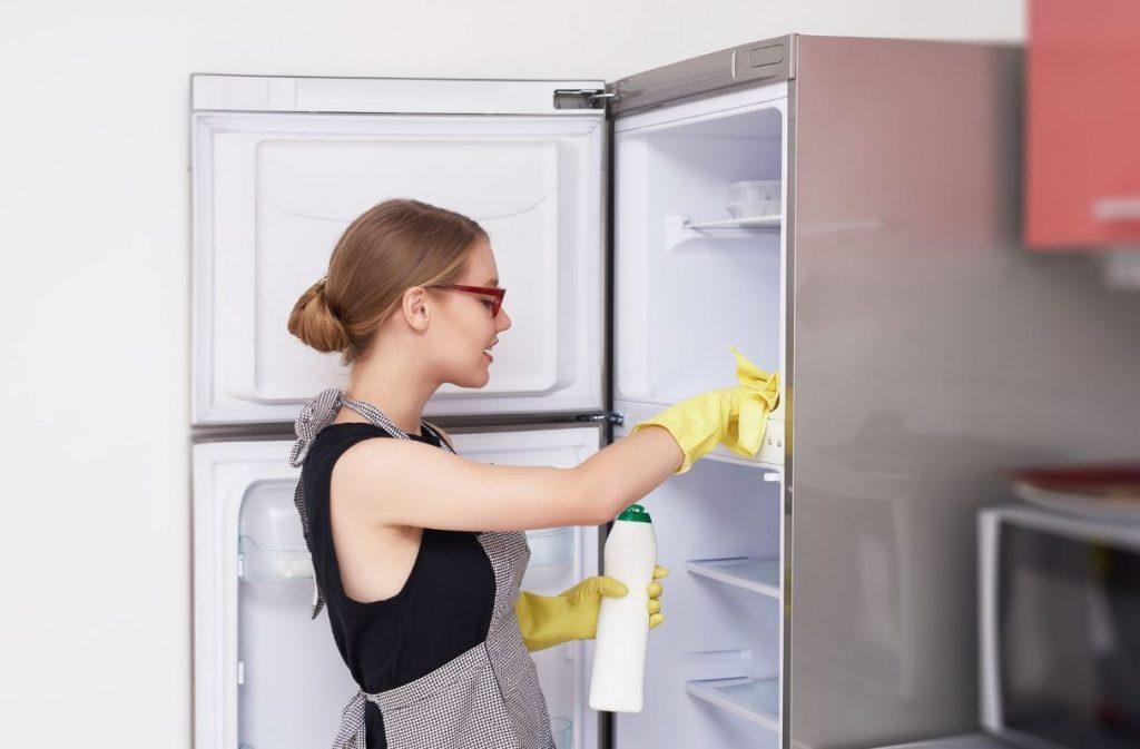 como limpiar el congelador por dentro