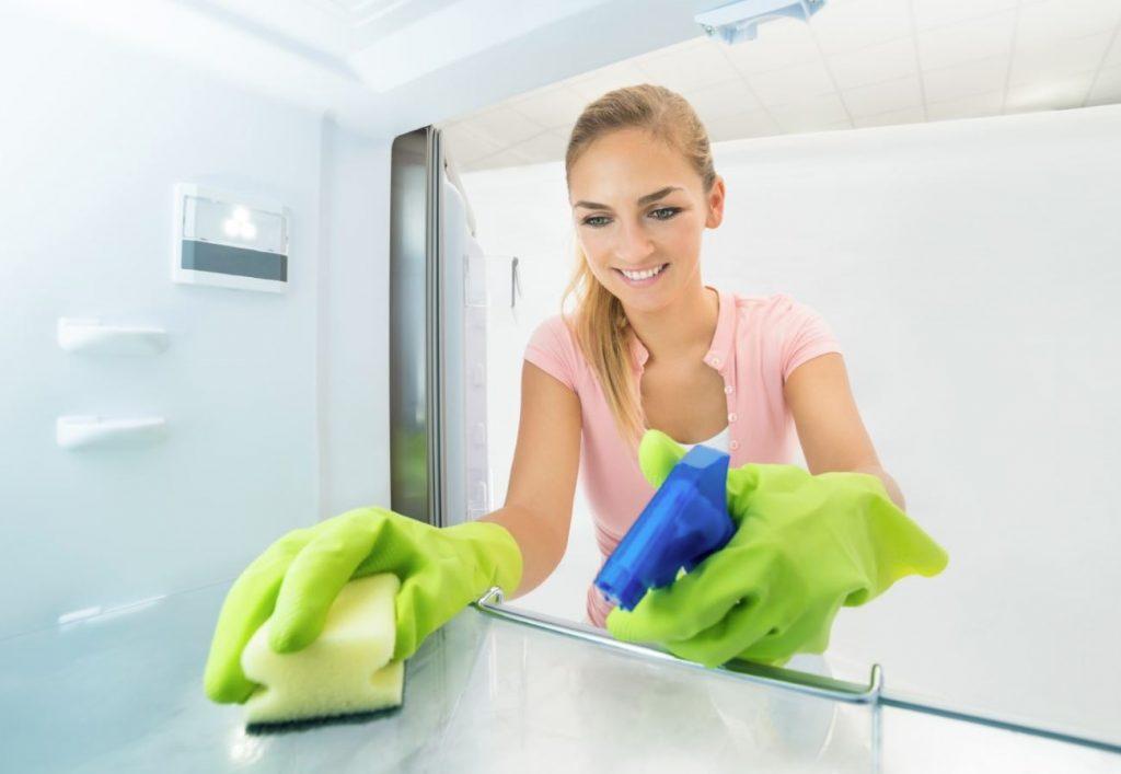 como limpiar el congelador rapidamente