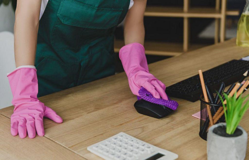 como limpiar un mouse de computadora