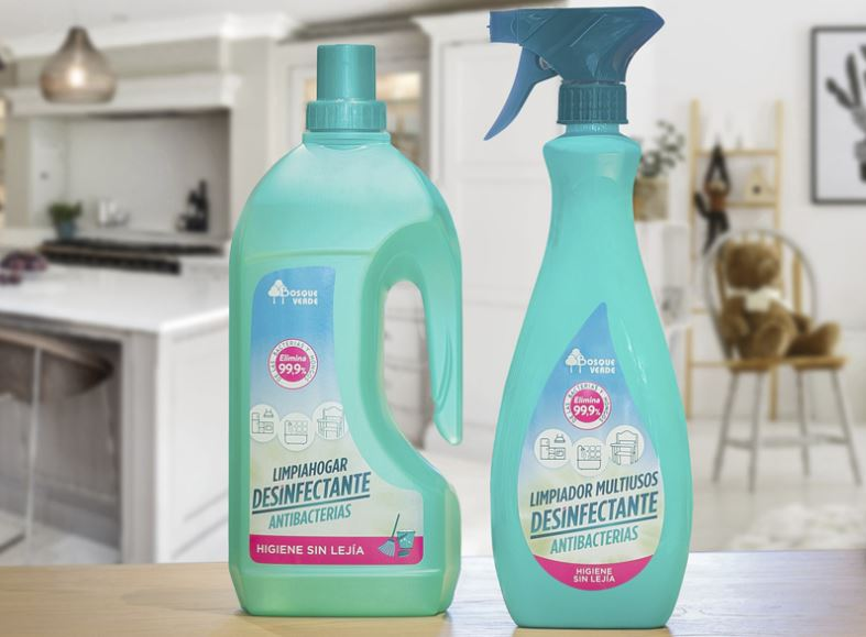 limpiadores desinfectantes para el hogar