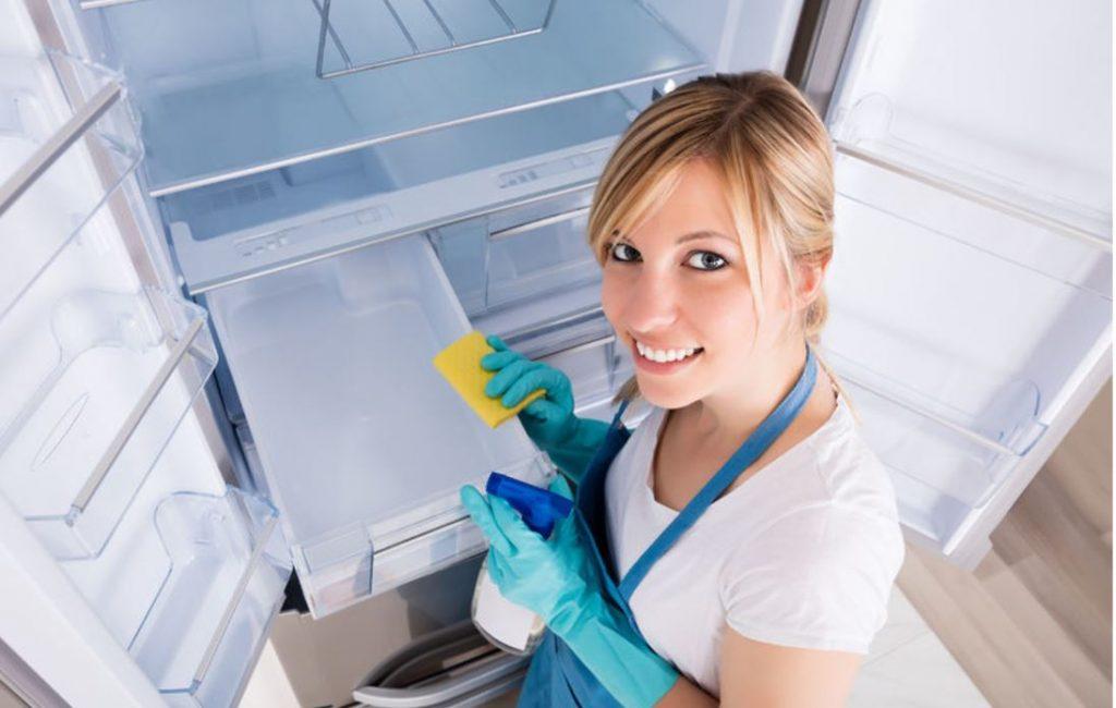 limpiar congelador de nevera