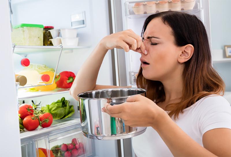 limpiar un frigorífico mal olor