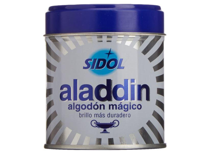 algun producto para limpiar plata aladdin