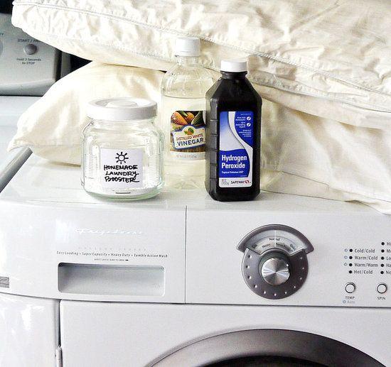como blanquear ropa con agua oxigenada